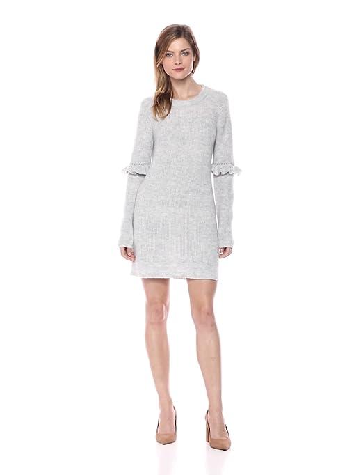 9309f94a0b kensie Women s Melange Knit Sweater Dress at Amazon Women s Clothing store