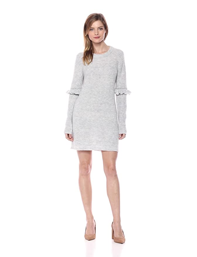 a4d4656c5cd kensie Women s Melange Knit Sweater Dress at Amazon Women s Clothing store