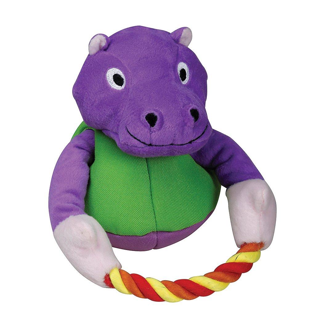 SmartPetLove Tender-Tuffs - Tug (Purple Hippo w/ Rope)