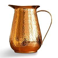 Kosdeg Copper Pitcher Extra Large 68 Oz - Drink More Water Lower Your Sugar Intake...