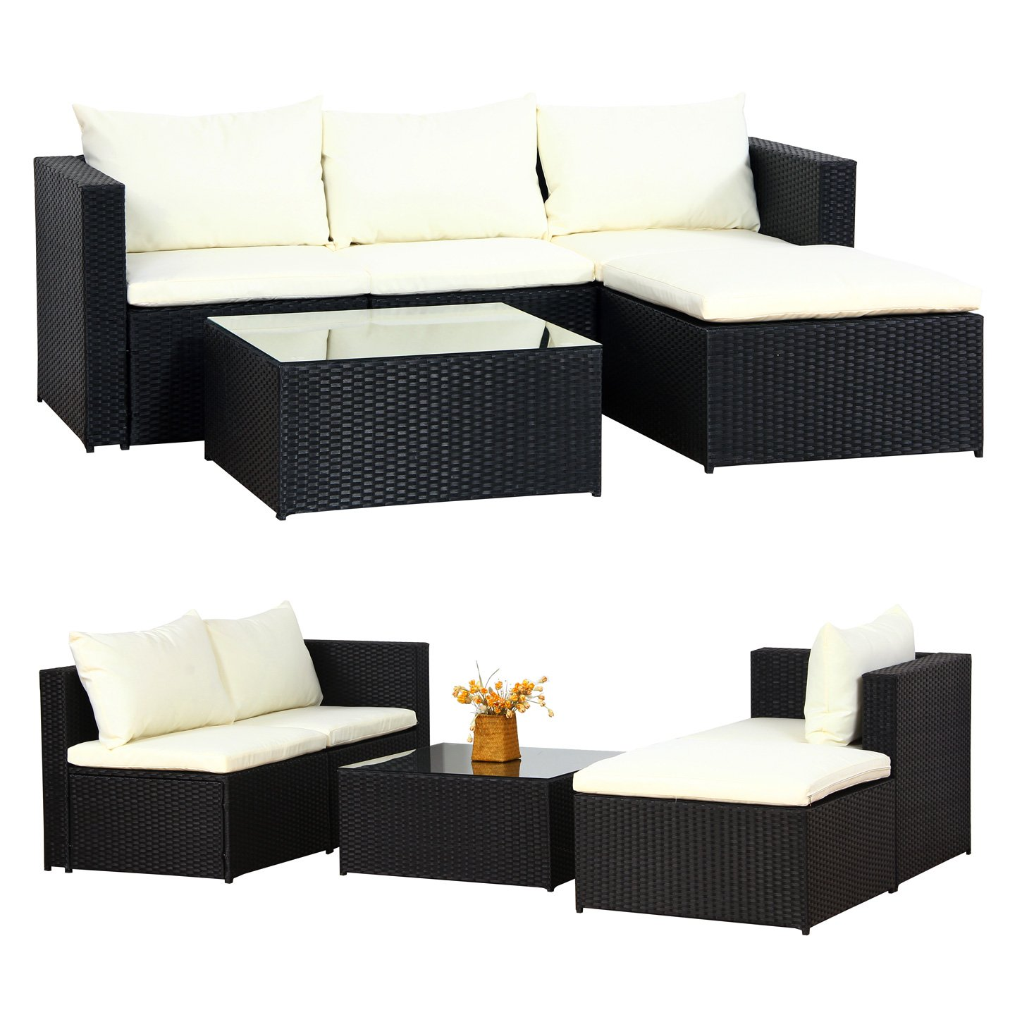 rattan gartenmobel schwarz eigenschaften0. Black Bedroom Furniture Sets. Home Design Ideas
