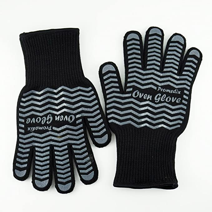 Amazon.com: Resistente al calor Guantes de cocción bbqgloves ...