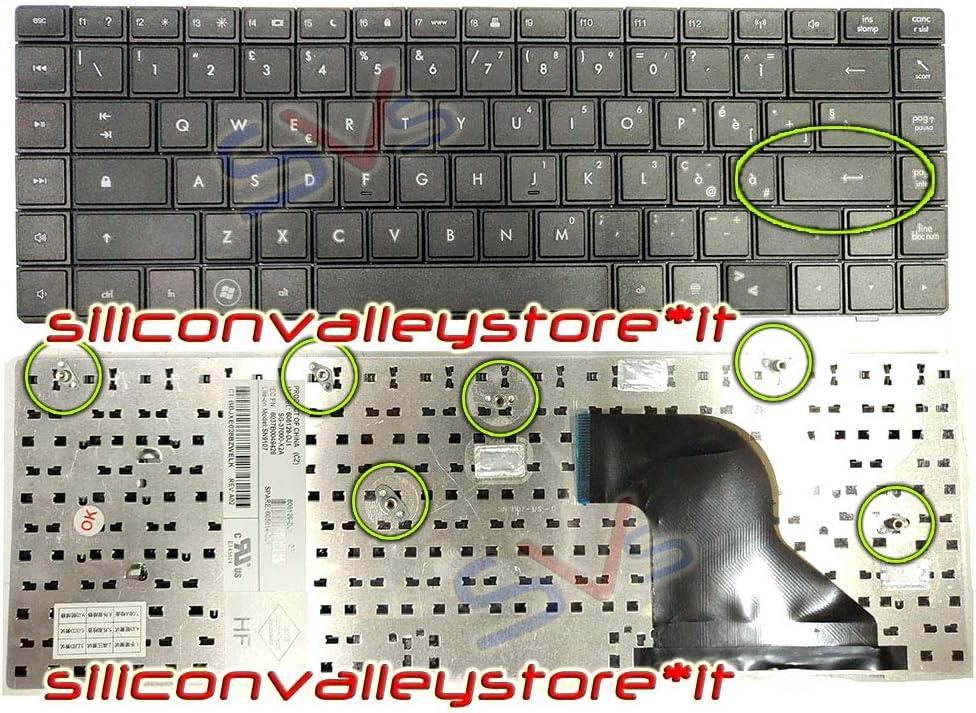 621 Siliconvalleystore Tastiera ITA V115326AK1 Nero HP Compaq 620 625