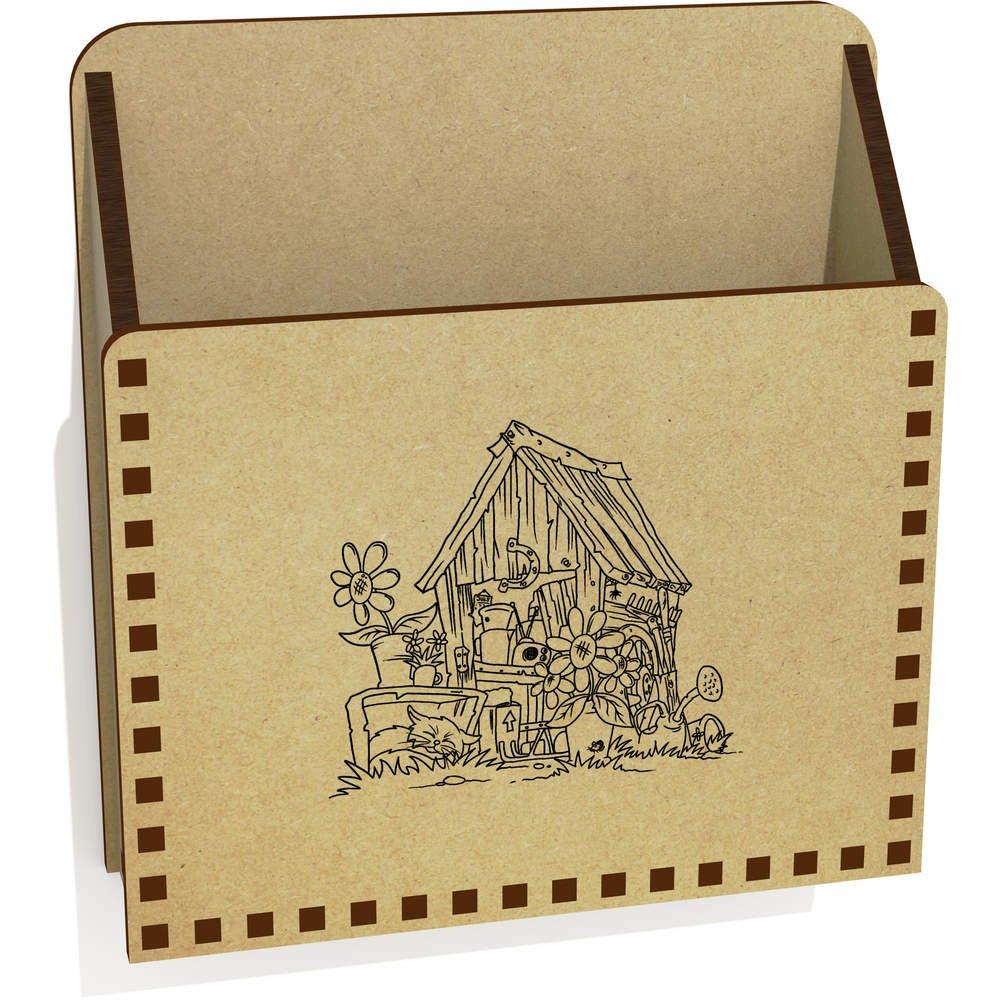 Antiguo Cobertizo De Madera Carta Poseedor / Caja (LH00020465): Amazon.es: Juguetes y juegos