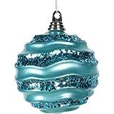 Vickerman Ball Ornament Wave