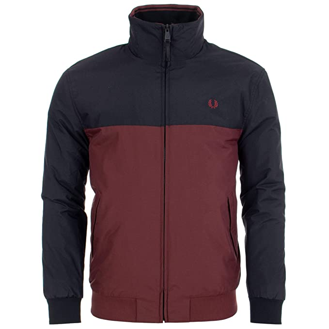 Fred Perry Panelled Quilted Brentham Jacket: Amazon.es: Ropa y accesorios
