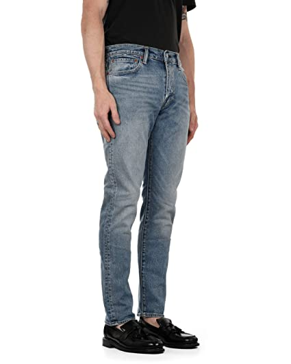 bccf39f41de Levi's Mens 512 Slim Tapered Fit Jeans in Light Blue- Zip Fly ...