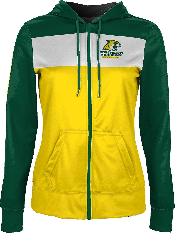 Prime School Spirit Sweatshirt Northern Michigan University Girls Zipper Hoodie