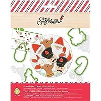 Sweet Sugarbelle SB372401 Cookie Cutters, Here Comes Santa