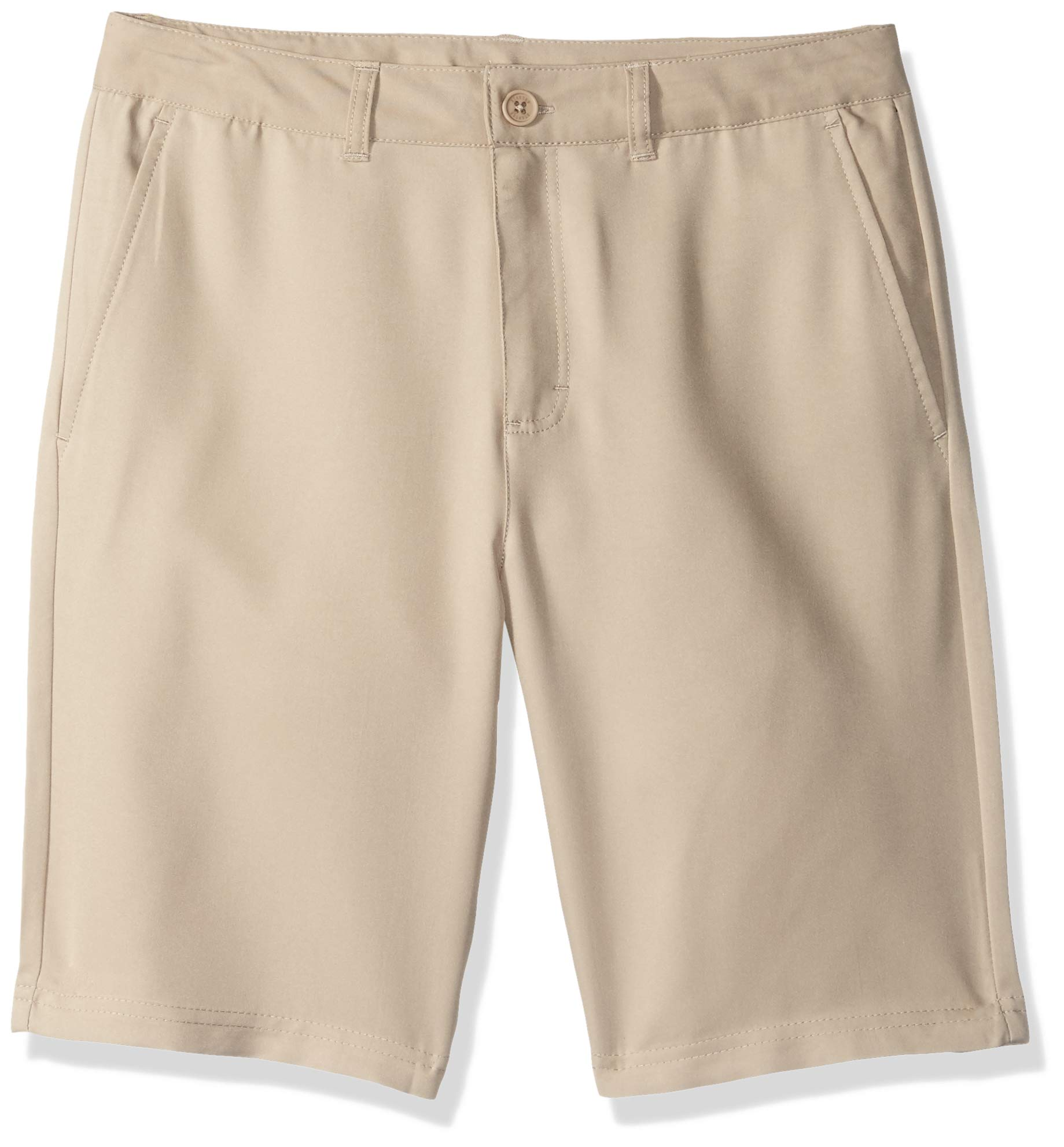 Starter Boys' 9'' Golf Club Shorts with Pockets, Khaki, S (6/7)