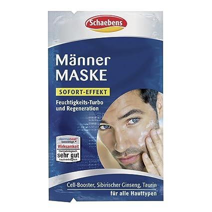 1 x schaebens Hombres Máscara 10 ml 2 x 5 ml para todos los tipos,