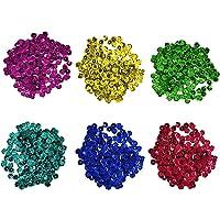 Loose Sequins, 1600 Pcs Round Multpile Color DIY Crafts Party Decorations