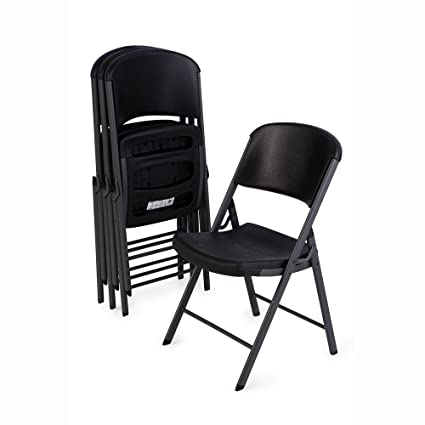 Superb Lifetime 80187 Commercial Grade Folding Chair 4 Pack Black Ocoug Best Dining Table And Chair Ideas Images Ocougorg