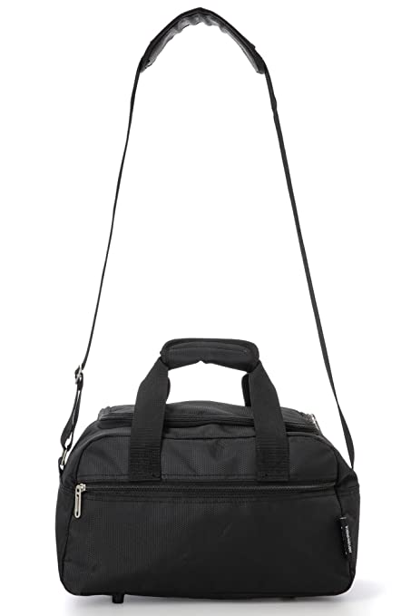 Amazon.com: Airline Approved Flight Bag for Delta United Southwest & More   Underseat Hand Luggage Holdall for Men & Women   Travel Duffel With Large ...