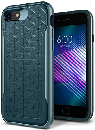 best website 4cdcf 370f3 Caseology [Apex Series] iPhone XS/iPhone X Case - [3D Pattern Design] -  Aqua Green