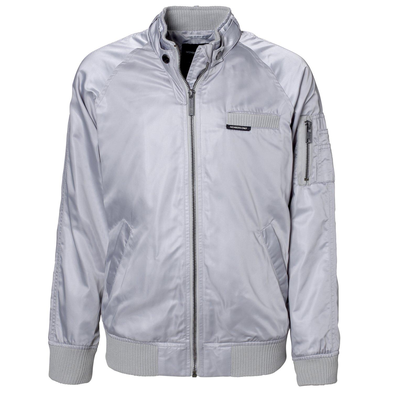 Members Only Girls Lightweight Jacket; Boyfriend Style Satin Jacket for Girls