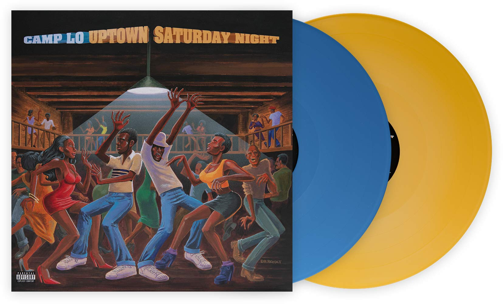 Uptown Saturday Night - Exclusive Club Edition Blue And Yellow 2X LP Vinyl by Arista