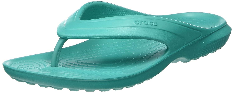 Crocs Classic Flip, Unisex Adulto Sandalia, Azul (Navy), 36-37 EU