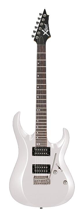 CORT X2 BLANC GLOSS Guitarras eléctricas Metal - moderno: Amazon.es: Instrumentos musicales