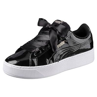 7b4a7f416fdb Puma Women s Vikky Platform Ribbon P Low-Top Sneakers  Amazon.co.uk ...