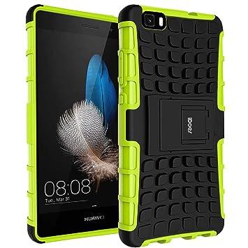 Huawei P8 Lite Funda,Carcasa Cases caso armor doble capa y ...