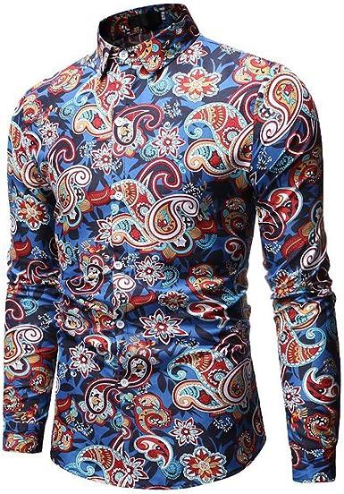 SO-buts Moda Para Hombre Estilo Hawaiano Ocio Impresión ...