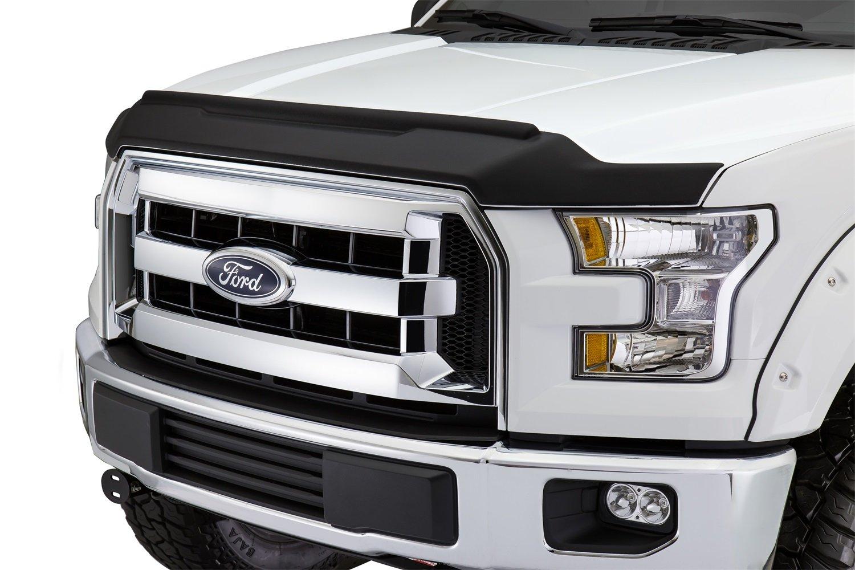Amazon com avs 436096 aeroskin ii matte black textured hood shield automotive