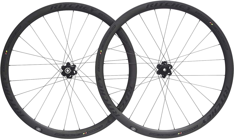 Ritchey WCS Apex 38Rueda de Bicicleta 28Disc TL Clincher 142x 12mm Shimano/SRAM 11de Compartimento cl Black 201826Pulgadas