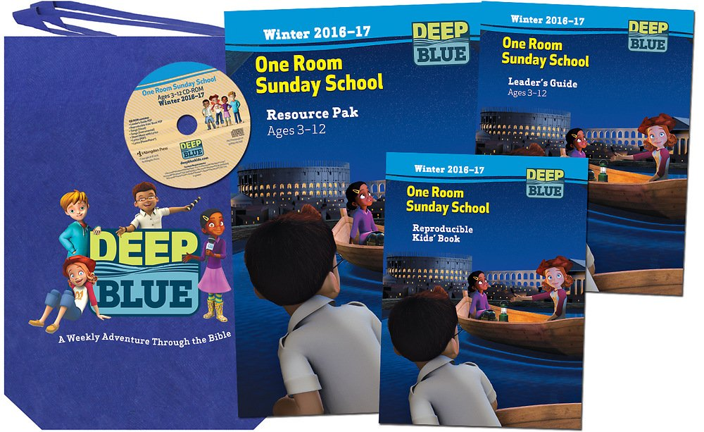 Download Deep Blue One Room Sunday School Kit Winter 2016-17: Ages 3-12 pdf epub