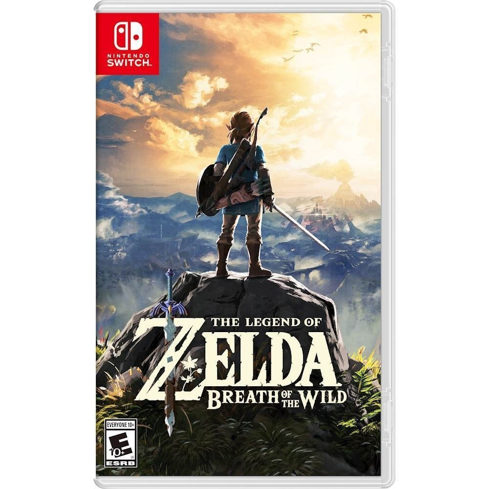 Amazon.com: The Legend of Zelda: Breath of the Wild - Nintendo ...