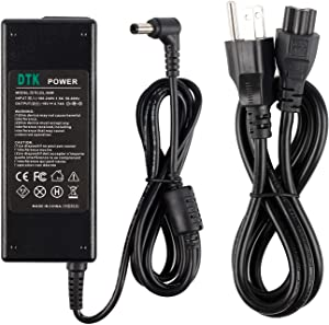 Dtk 19V 4.74A 90W Ac Adapter Laptop Computer Charger/Notebook PC Power Cord Supply Source Plug for ASUS/Toshiba/Lenovo Connector: 5.5 x 2.5mm