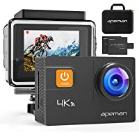 APEMAN A80 Action Camera 4K 20MP WiFi Ultra HD Underwater Waterproof 40M Sports Camcorder with 170° EIS Sony Sensor, 2…