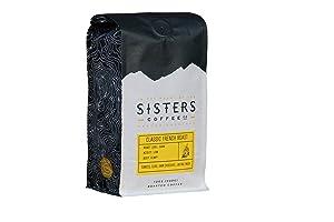 Sisters Coffee, Coffee French Roast Organic, 12 Ounce