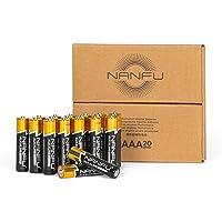 Deals on NANFU High Performance AAA Alkaline Batteries (20 Count)