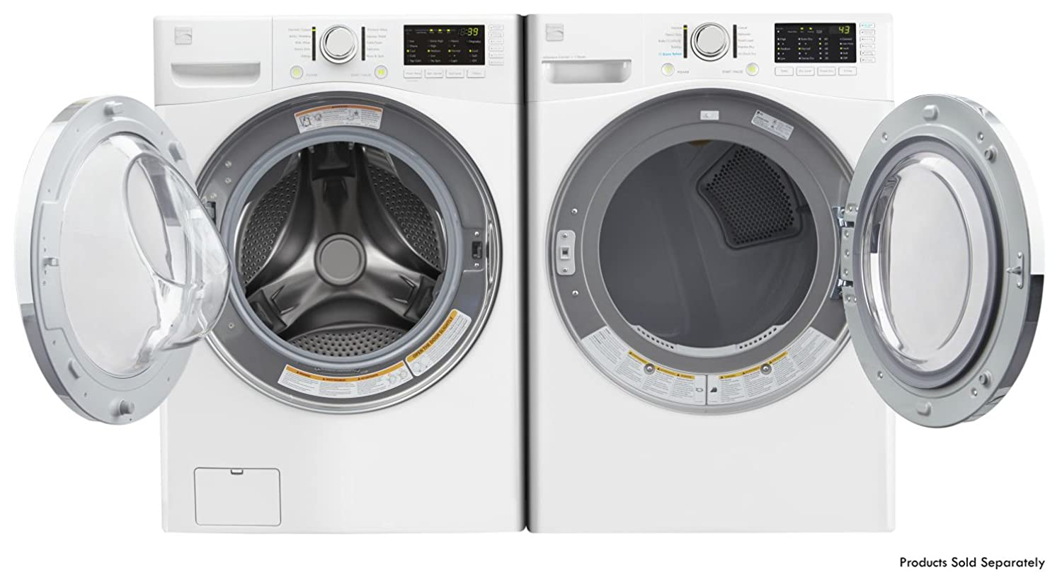 includes delivery and hookup Kenmore 41392 4.5 cu Front-Load Washer with Accela Wash in White ft