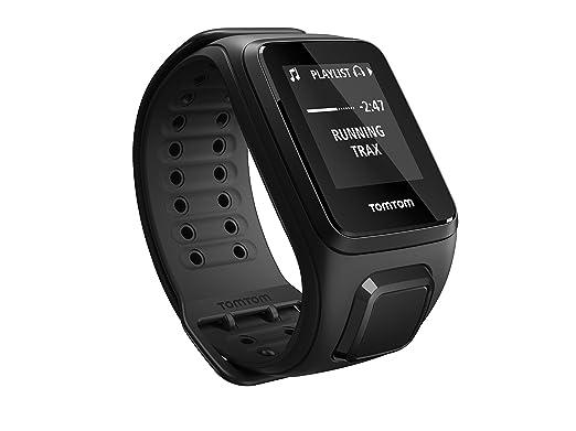 Tomtom Spark Music - Montre Fitness GPS - Bracelet Large Noir (ref 1REM.003.01): Amazon.fr: GPS & Auto