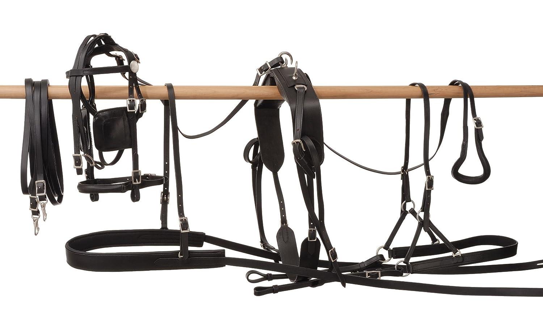 Tough 1 Leather Harness JT International 74-6550-0-0-P