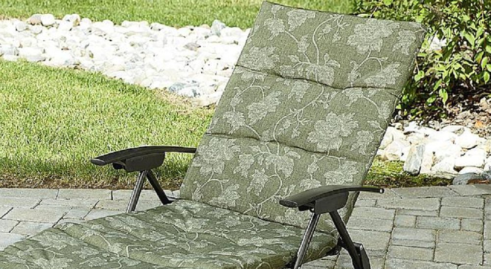 Attractive Amazon.com : Folding Padded Sling Chaise Lounger Green Outdoor Lounge Chair  Patio, Pool, Deck, U0026 Garden Furniture. Enjoy Sun Bathing In Your New Lawn  Chair!