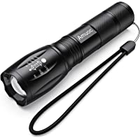 Flashlights, LED Tactical Flashlight S1000 - High Lumen, 5 Modes, Zoomable, Water Resistant, Handheld Light - Best…