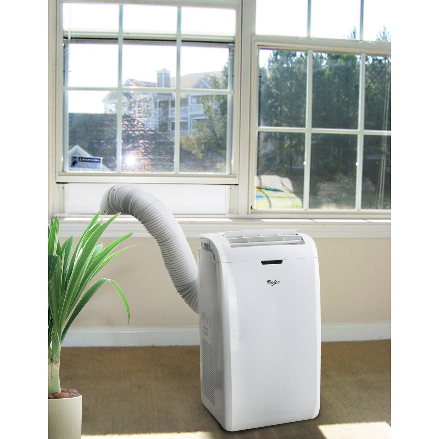 Amazon.com: Whirlpool 12,000 BTU Portable Air Conditioner with ...