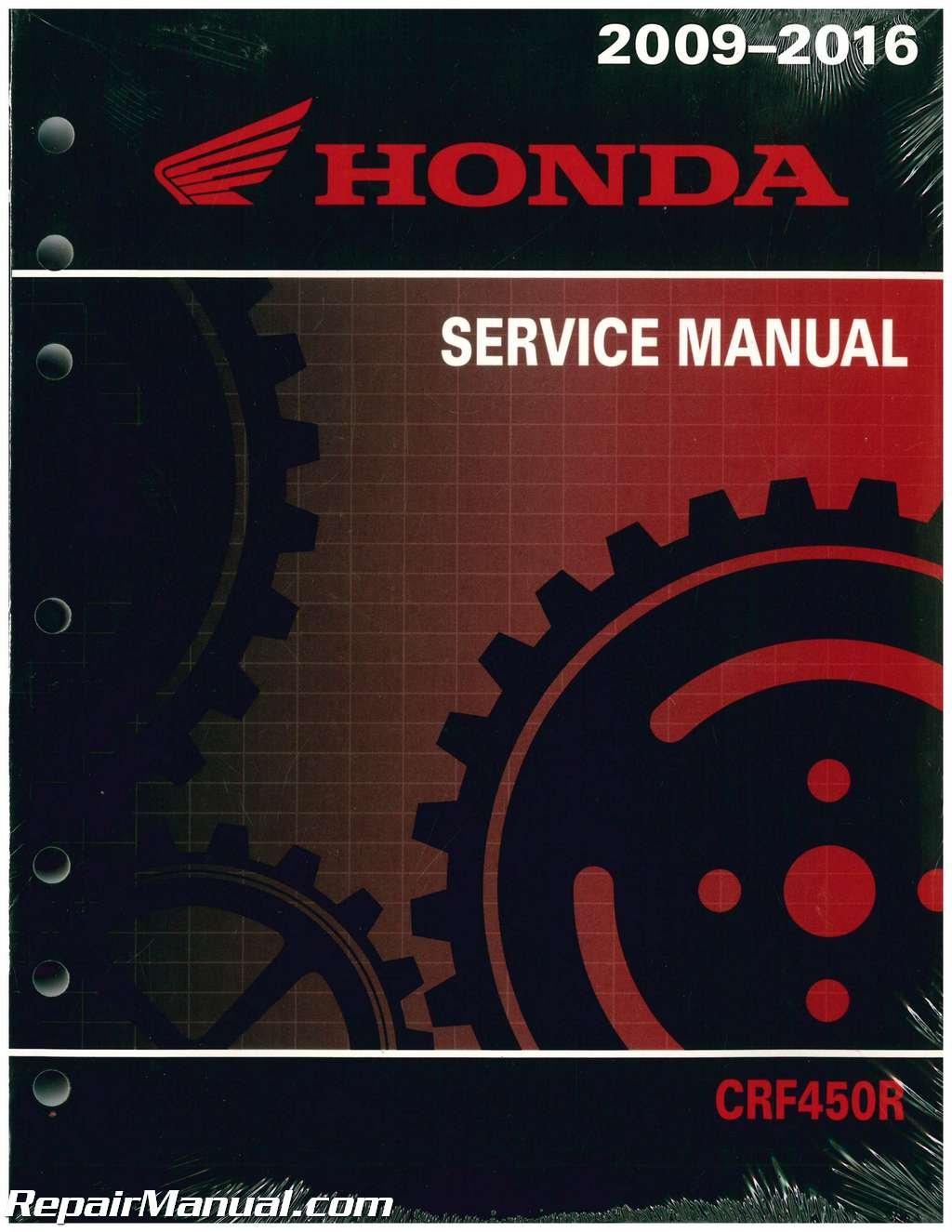 61MEN75 2009-2014 Honda CRF450R Motorcycle Service Manual: Manufacturer:  Amazon.com: Books