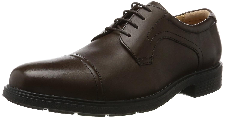 TALLA 41.5 EU. Geox U Dublin C, Zapatos de Cordones Derby para Hombre