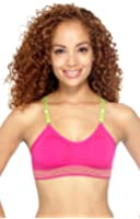 Simplicity Supportive Activewear Bra w Removable Pads, Slider Straps