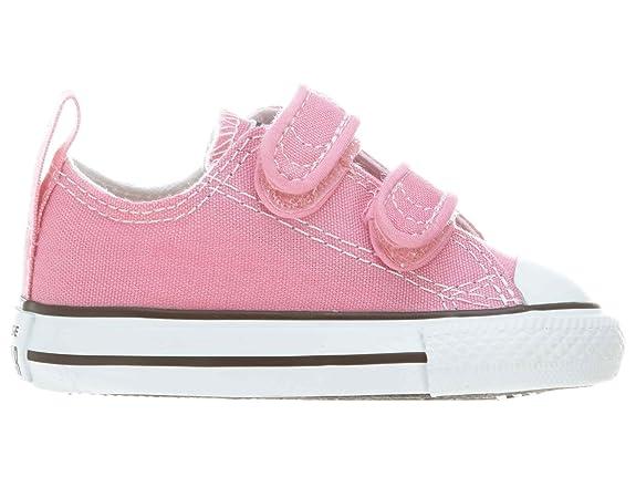 Amazon.com  Converse Infants Ct 2V Ox709447F Style  709447F-PNK Size  6   Shoes 8578baf4d