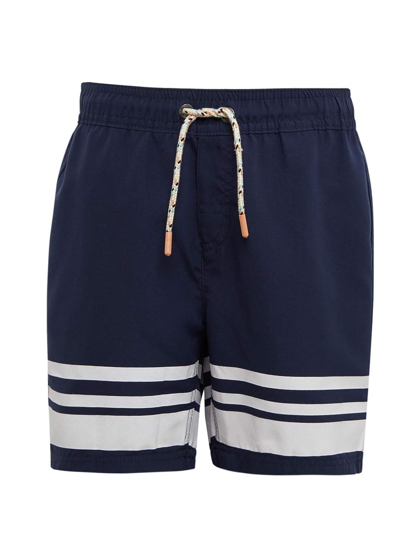 TOM TAILOR für Jungen Beachwear/Bademode Schwimm-Shorts mit Streifen-Details