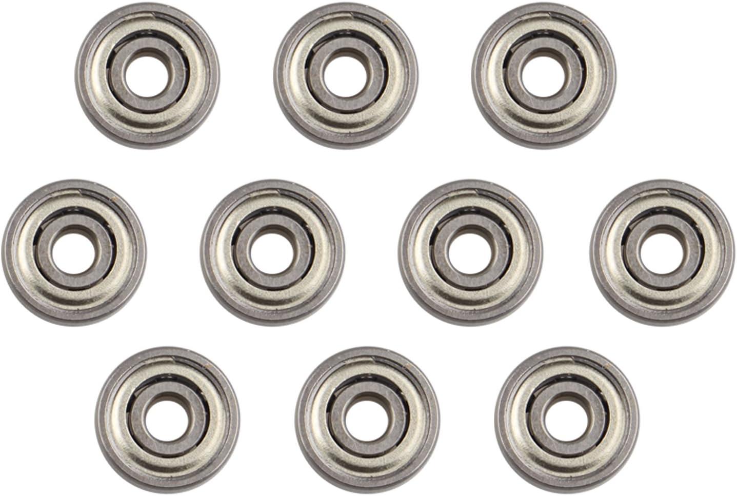 10 piezas 624ZZ rodamiento de bolas en miniatura de metal blindado ...