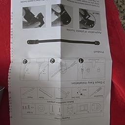 Paquete de Sujetadores Para Muebles Anti-Derrapante Para Muebles a Prueba de Ninos de Uso Rudo 4 pieza Negro de Boxiki Kids.