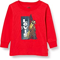 Levi's kids Lvb LS Graphic tee Camiseta para Bebés