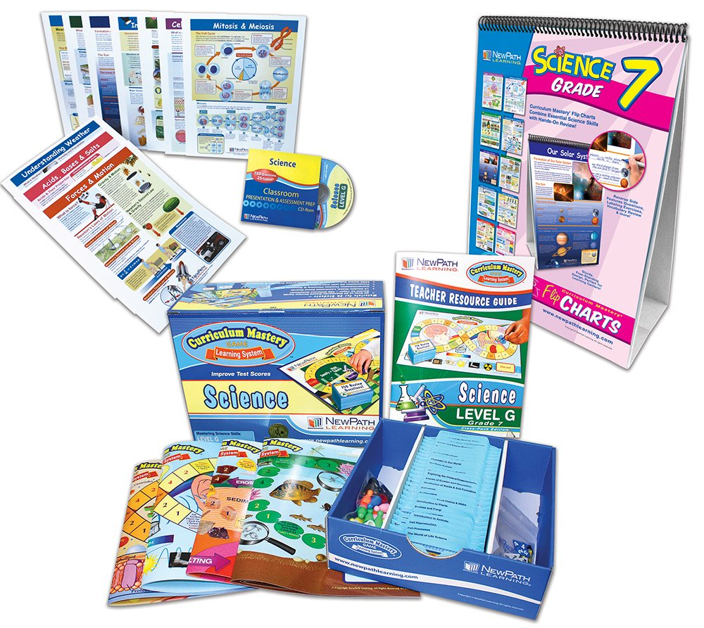 NewPath Learning 24-7171 Science Curriculum Learning Module, Grade: 7 to 7 by New Path Learning (Image #1)