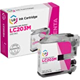 LD Compatible Ink Cartridge Replacement for Brother LC203M High Yield (Magenta)